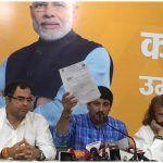 Manoj Tiwari Accuses Kejriwal, Sisodia of Rs 2000 Crore Scam, Says 'Will Furnish Details to Lokpal'