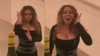 Bottle Cap Challenge: American singer Mariah Carey Opens The Cap Without a Kick, Watch