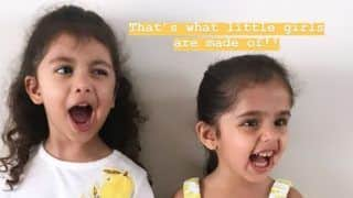 Shahid Kapoor, Mira Rajput's Daughter Misha Kapoor Gets Goofy With BFF as They Twin in Yellow