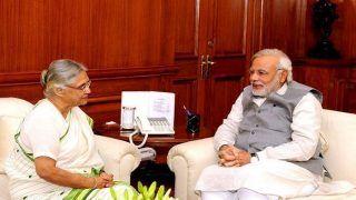 PM Narendra Modi, President Ram Nath Kovind Mourn Demise of Sheila Dikshit, Tweet Condolences
