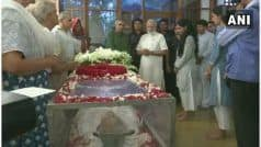 PM Modi, Sonia Gandhi Pay Tribute to Sheila Dikshit at Her Residence | LIVE