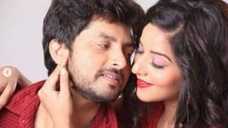 Bhojpuri Bomb Monalisa And Husband Vikrant Singh Rajpoot Pose For a Hot And Sensuous Photoshoot