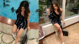 Mouni Roy Flaunts Hotness in Plunging Black Dress in Sizzling New Photo