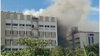 Mumbai: Fire Breaks Out at MTNL Bandra Office, Rescue Operation Underway