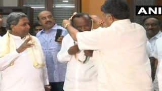 Karnataka Congress Rebel MLA MTB Nagaraj Back in Mumbai After Assuring to Stay Put