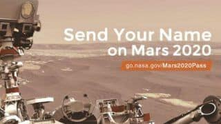 NASA's Latest Offer to 'Send Your Name to Mars' Gets Funniest Reactions From Twitterati, Demand Sending Humans Too!