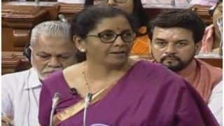 Union Budget 2019: Full Text of Speech by Finance Minister Nirmala Sitharaman