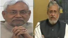 नीतीश कुमार के नेतृत्व में ही एनडीए बिहार विधानसभा चुनाव लड़ेगा: सुशील मोदी