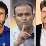 Talking About MS Dhoni's Retirement, Virender Sehwag Rages War on National Television With Former Chairman of Selection Committee Sandeep Patil, Kapil Dev