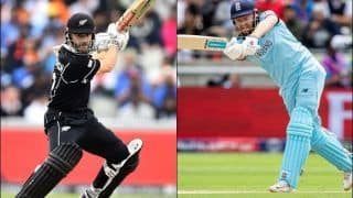 New Zealand vs England: Kane Williamson, Jonny Bairstow, Other Key Players to Look Out For in IND vs NZ ICC Cricket World Cup 2019 Final