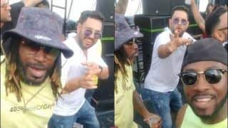 Yuvraj Singh, Chris Gayle, Andre Russell Had a Blast in After-Match-Party of Global T20 Blast in Canada | WATCH VIDEO