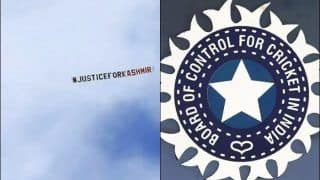 BCCI Raises Concern With ICC After Aircraft Fly Over With Political Message During ICC World Cup 2019 Match between India, Sri Lanka