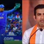 Gautam Gambhir Talks About MS Dhoni's Future in International Crickets, Says Wicketkeeper Should Take Practical Decision as he Did With Him, Virender Sehwag, Sachin Tendulkar