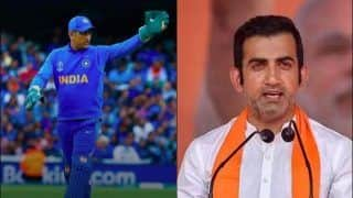 MS Dhoni a Lucky Captain: Gautam Gambhir's Comments Face Backlash on Twitter | SEE POSTS