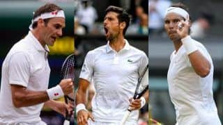 Rafael Nadal, Roger Federer, Novak Djokovic Make it to Quarter Finals of Wimbledon Open 2019