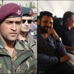 Exclusive Picture of Lieutenant Colonel Mahendra Singh Dhoni on Kashmir Bound Flight to Join Indian Army | SEE PHOTOS