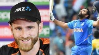 Rohit Sharma Has Been The Standout Batter, Says Kane Williamson in Press Conference Before ICC World Cup 2019 India vs New Zealand Semifinal-1