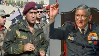 I Don't Think We Will Need to Protect MS Dhoni, He Will Protect Indian Citizens, Says Army Chief General Bipin Rawat