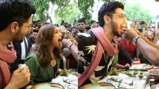 Parineeti Chopra And Sidharth Malhotra Try Fire Paan in Delhi, Their Reactions Are The Best Thing to Watch