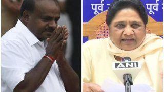 मायावती ने कर्नाटक में BSP के एकमात्र विधायक से कुमारस्वामी सरकार के समर्थन में वोट करने को कहा