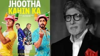 Amitabh Bachchan Sends Best Wishes to Rishi Kapoor For Film Jhootha Kahin Ka