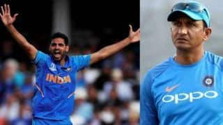 ICC Cricket World Cup 2019: Bhuvneshwar Kumar Was Fit to Play Against England as Well, Says Sanjay Bangar