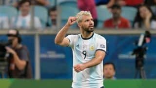Sergio Aguero Will Play Against Brazil, Says Argentina Coach