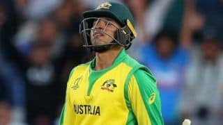 ICC Cricket World Cup 2019: Usman Khawaja Out, Matthew Wade to Replace Him
