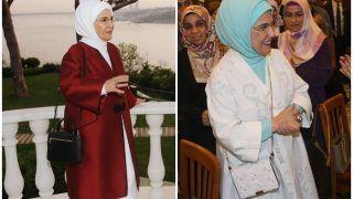 Emine Erdogan Faces Criticism For Luxury Bag After Nita Ambani, Spotted Carrying Handbag Worth $ 50,000