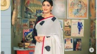 Haryanvi Dancer Sapna Choudhary Looks Class Apart in White Saree, Check Pictures