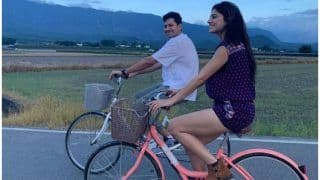 Web's National Crush Sumeet Vyas Has His Head in The Clouds as he Relives Childhood With Sapna Pabbi in Taiwan
