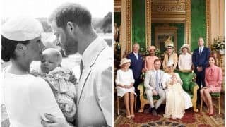 Archie's Christening: Meghan Markle-Prince Harry Share Royal Pictures After Baby Son's Royal Baptism at Windsor Castle