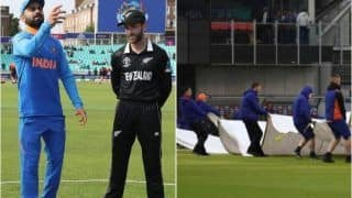 India vs New Zealand Weather Report: Forecast For IND vs NZ WC 2019 1st Semifinal, Rain to Play Spoilsport at Manchester?