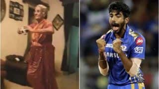 Old Lady Emulates Jasprit Bumrah's Bowling Action And Run-Up, Team India Bowler Applauds Her Effort | WATCH VIDEO
