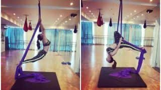 Urvashi Rautela's Sexy Aerial Workout in Sync With Kabir Singh's Bekhayali Song Will Set Your Sunday on Fire!