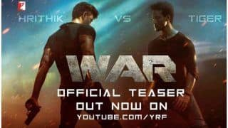 War Teaser Out: Hrithik Roshan-Tiger Shroff Sizzle as They Pack Punches, Action And Romance Vaani Kapoor