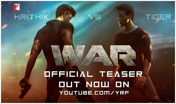 War Teaser Out: Hrithik Roshan-Tiger Shroff Sizzle as They
