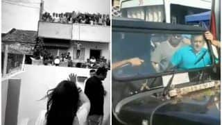 Sonakshi Sinha-Salman Khan Get Roaring Welcome by Fans as Dabangg 3 Shoot Begins in Phaltan