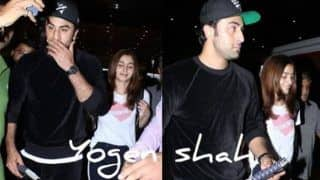 Alia Bhatt, Ranbir Kapoor Return From Their New York Getaway, See Pictures