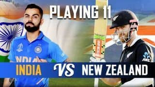 ICC Cricket World Cup 2019 1st Semifinal IND vs NZ: Yuzvendra Chahal, Ravindra Jadeja, Who Will Be Picked By Indian Captain Virat Kohli; India vs New Zealand Playing Eleven