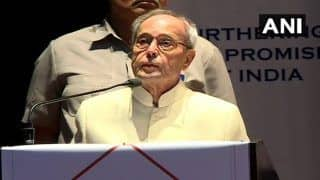 Ongoing Protests Will Help Deepen India's Democratic Roots: Pranab Mukherjee