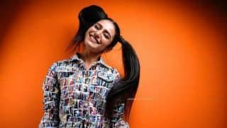 Malayalam Hot Actor Priya Prakash Varrier Looks Adorable in Two Ponytails, See Here