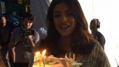 बॉलीवुड की 'देसी गर्ल' को जन्मदिन पर मिला कुछ ऐसा सरप्राइज, देखकर चौंक गई