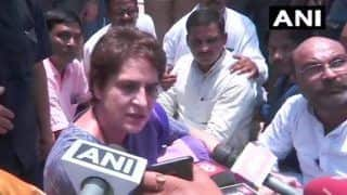 Sonbhadra Firing: Priyanka Gandhi Detained From Visiting Kins of 10 Killed in Uttar Pradesh