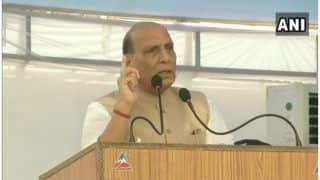 Kashmir Issue Will Get Resolved, No Power in World Can Stop it: Rajnath Singh