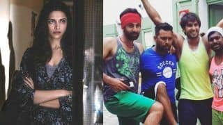 When Ranveer Singh Came to See Deepika Padukone And Ended up Posing With Ranbir Kapoor