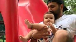 Rohit Sharma Plays With Daughter Samaira And The Cute Video Will Make Your Day