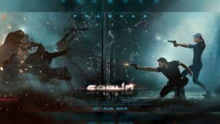 Saaho New Action Poster: Shraddha Kapoor, Prabhas All Set to Fight in All Black Look