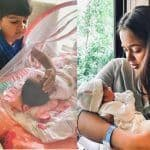 This Adorable Picture of Sameera Reddy's Son With His Little Sister is All About Innocence