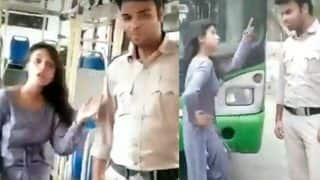 Viral Video: Delhi Girl Dances on Sapna Choudhary's Song 'Teri Aakhya Ka Yo Kajal'on DTC Bus